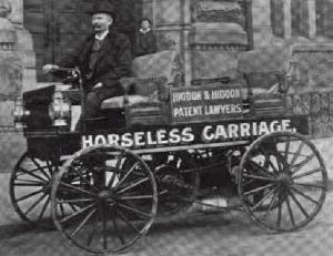 horseless carriage